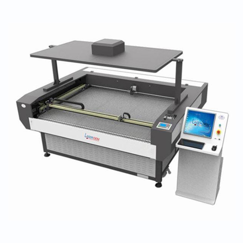 GEM1610 GEM1810 Large Format Auto Feeding Camera Laser Cutting Machine