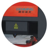 Aluminum YAG laser cutting machine GEMQG-3015L(650W)3