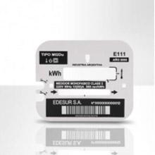 Electricity Meter Housing with Individualized Barcode