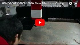 GEMQG-3015F-1000 1000W Metal Fiber Laser Cutting Machine