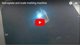 Nameplate and Scale Marking Machine